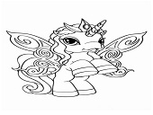 Unicorn Nice Coloring Coloring Page