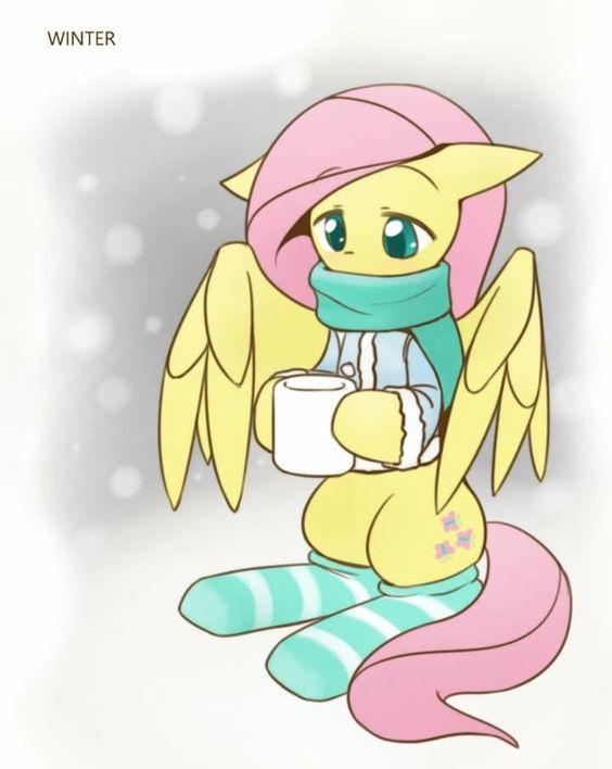 My Little Pony Fluttershy In Winter Picture