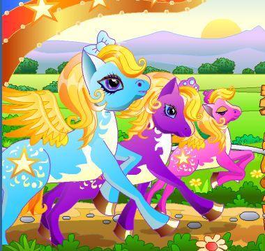 Pony Run Game