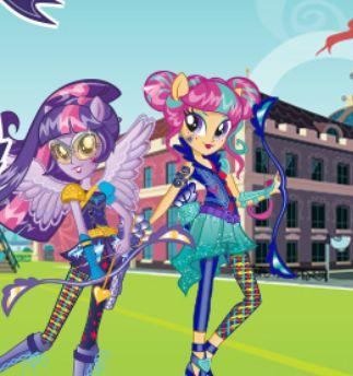 My Little Pony Equestria Girls Archery Game