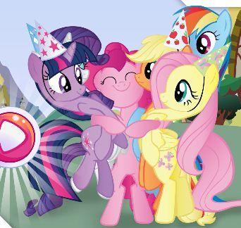 My Little Pony Jelly Match Game