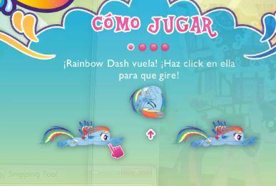 My Little Pony Rainbow Dash Equestria Race Game