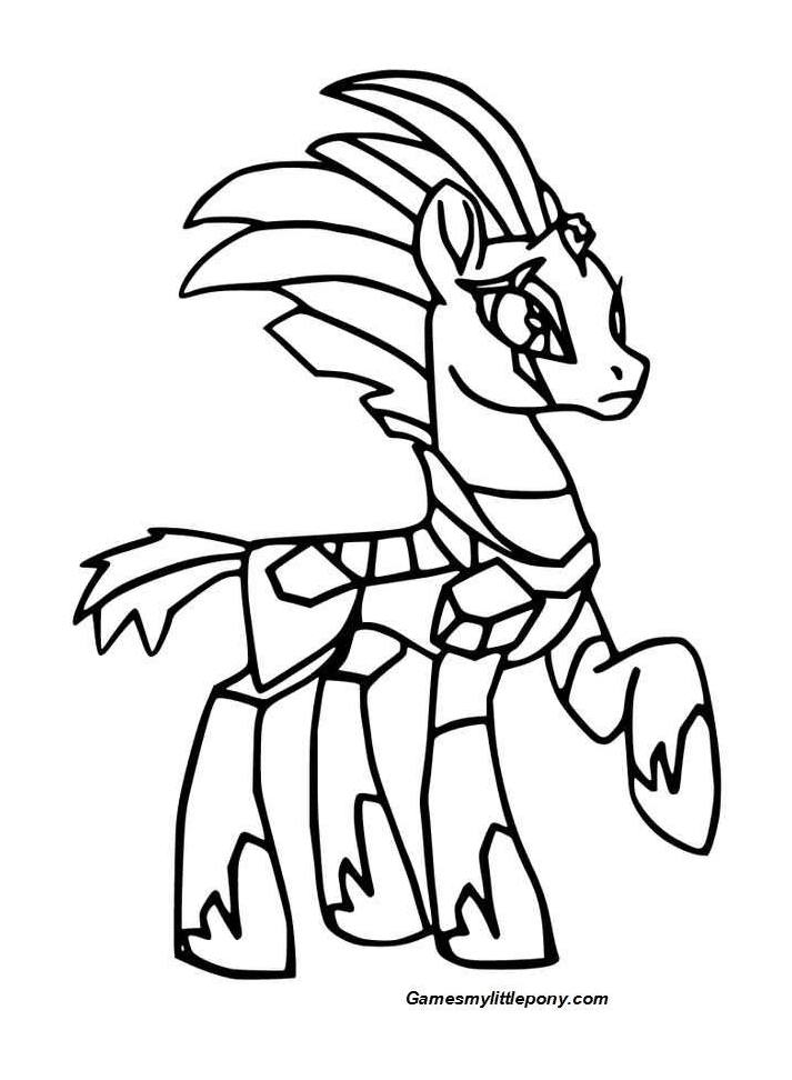 Mlp Coloring Tempest Shadow Coloring Page