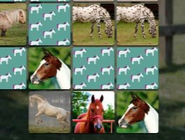 Horse Memory Game Game
