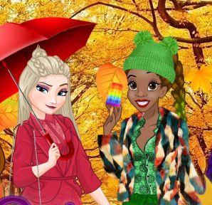 Elsa Urban Outfitters Autumn Game