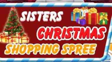Elsa And Anna Christmas Shopping Spree Game