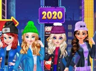 Princess New Year 2020 Game