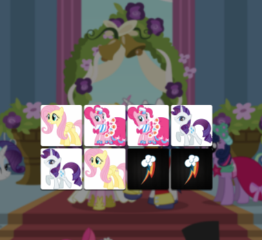 My Little Pony Equestria Girls Memo Deluxe Game