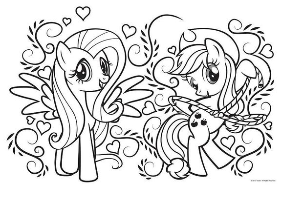 My Little Pony Friendship Coloring Page