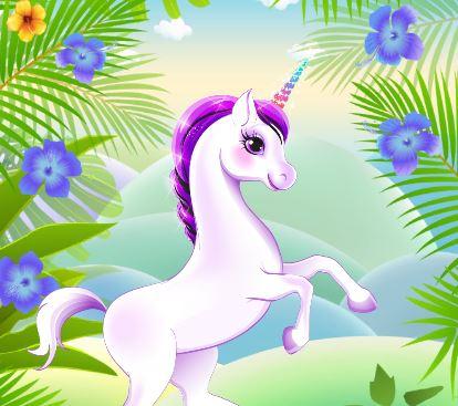 My Little Pony Unicorn Dress Up Game
