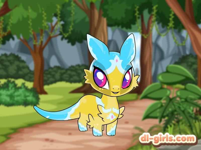 Cute Little Dragon Creator Game