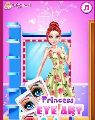 Princess Eye Art Salon New Game