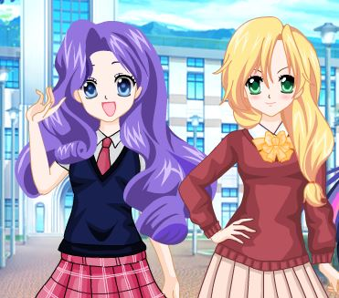 Equestria Girls Campus Style Game