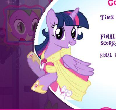 Twilight Sparkle Memory Match Game