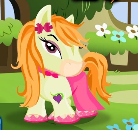 Baby Bratz Pony Dress Up Game