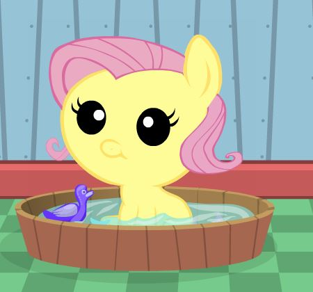 Baby Fluttershy Day Care Game