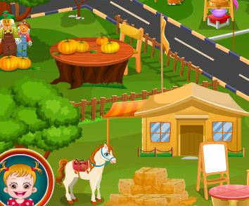 Baby Hazel Harvest Festival Game