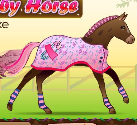 Baby Horse Deluxe Game