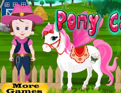 Baby Lisi Pony Care Game