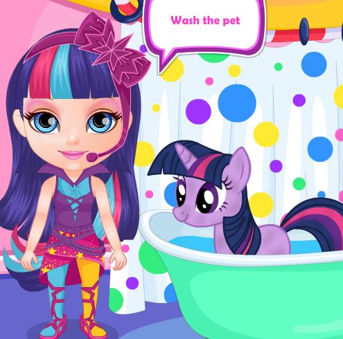 Baby Little Pony Game