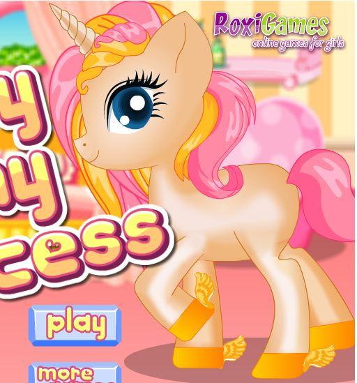 Baby Pony Princess Game