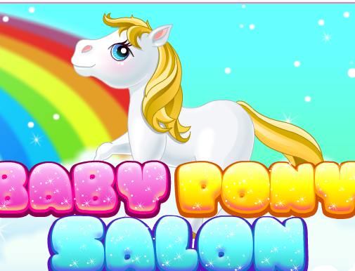 Baby Pony Salon Game