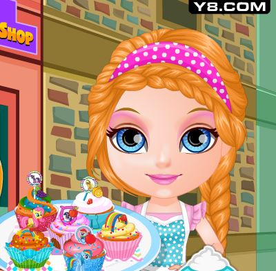 Baby Princess Little Pony Cupcakes Game