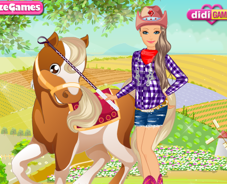 Barbie Country Horse Game
