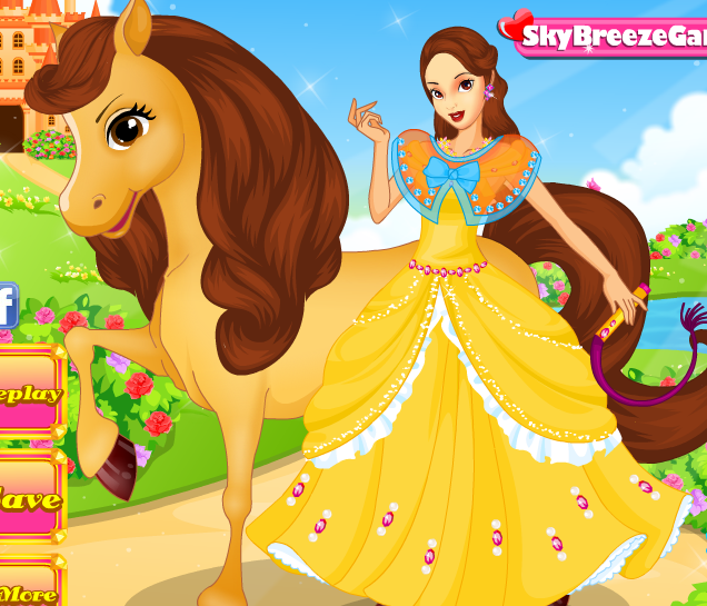 Belle's Horse Caring Game