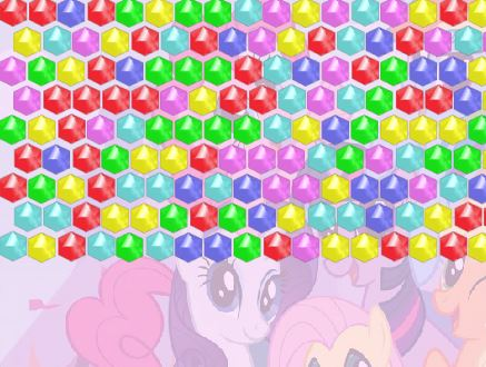 Bubble My Little Pony Game