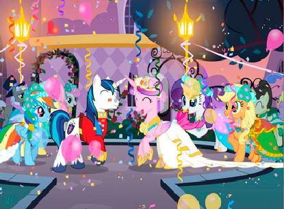 Cadance Pony Wedding Puzzle Game