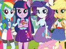 Canterlot High Numbers Hunt Game