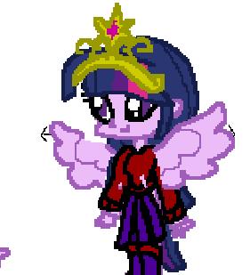 Chibi Twilight Sparkle Dressup Game