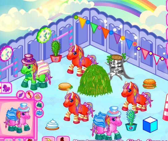 Create Farm For Pony Game