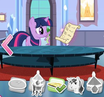 Crystal Empire Seek And Find Game