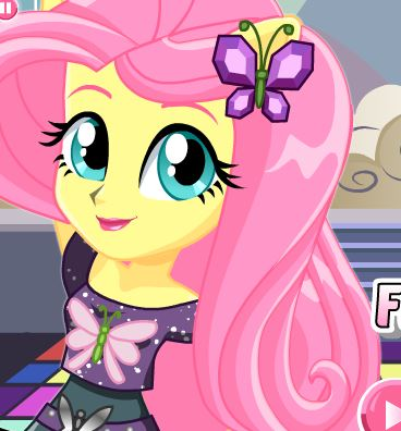 Dance Magic Fluttershy Game