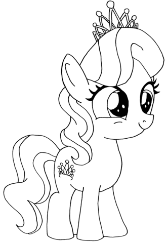 Diamond Tiara My Little Pony from My Little Pony Game