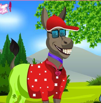 Donkey Dress Up Game
