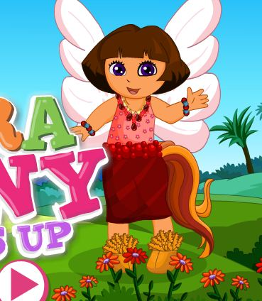 Dora Pony Dress Up Game
