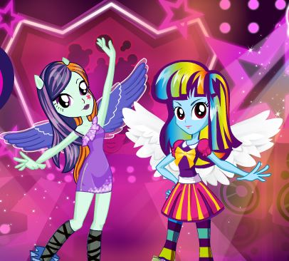 Equestria Girls Fashion Rivals Game