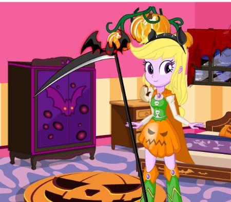 Equestria Girls Halloween Game