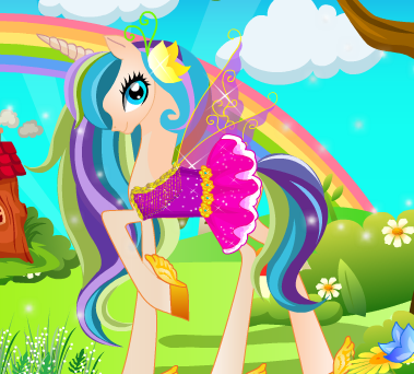 Fairy Pony Care Game
