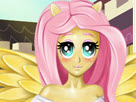 Fluttershy at Beauty Salon Game