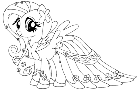 Fluttershy from My Little Pony Game