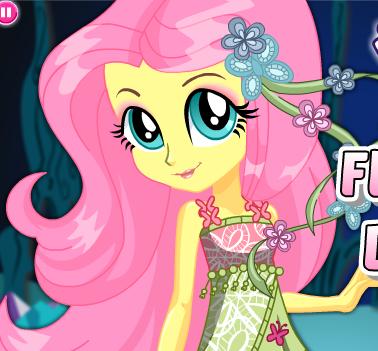 Fluttershy Dress Up Game