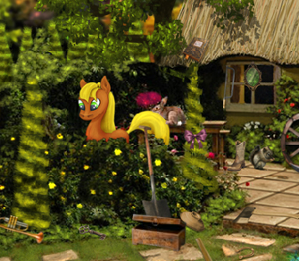 Forest Pony Game