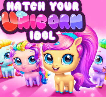 Hatch Your Unicorn Idol Game