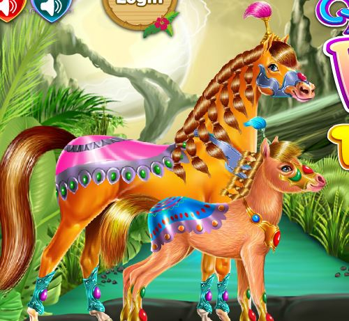 Horse And Pony Training Game