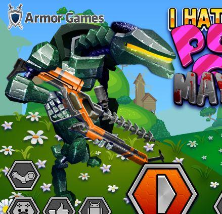 I Hate Candy Pony Mayhem Game