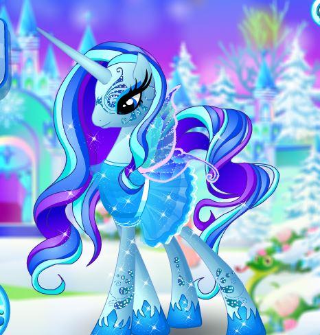 Ice Pony Pet Salon Game